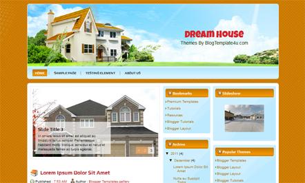 Dream house cara membuat website gratis dan mudah for Dream house website